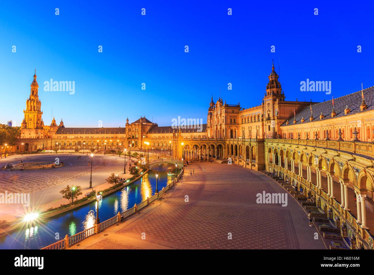 Sevilla, Spanien. Stockbild
