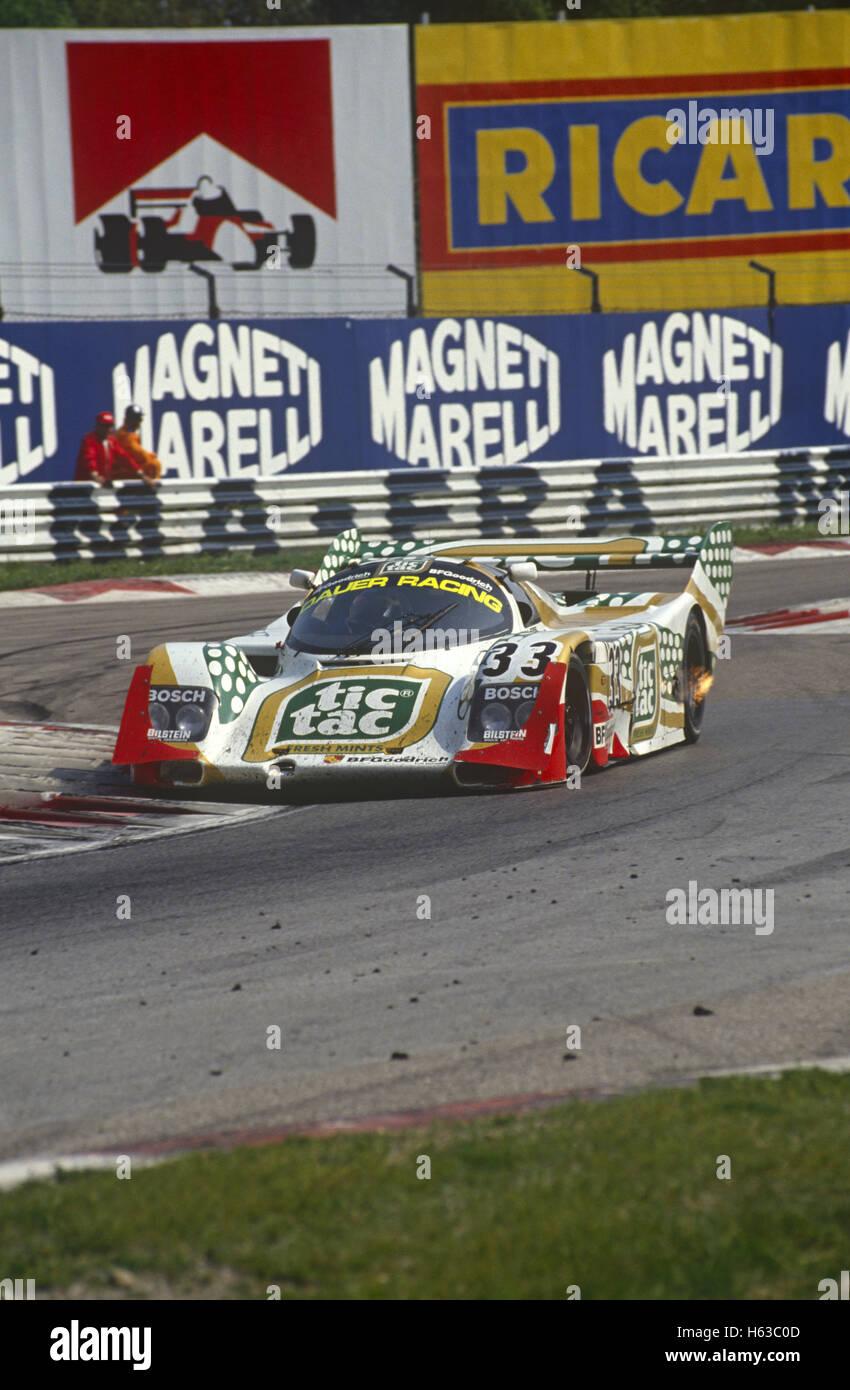 Raul Boesel Porsche 962C von Konrad Motorsport Dauer Racing 1990 eingegeben Stockbild