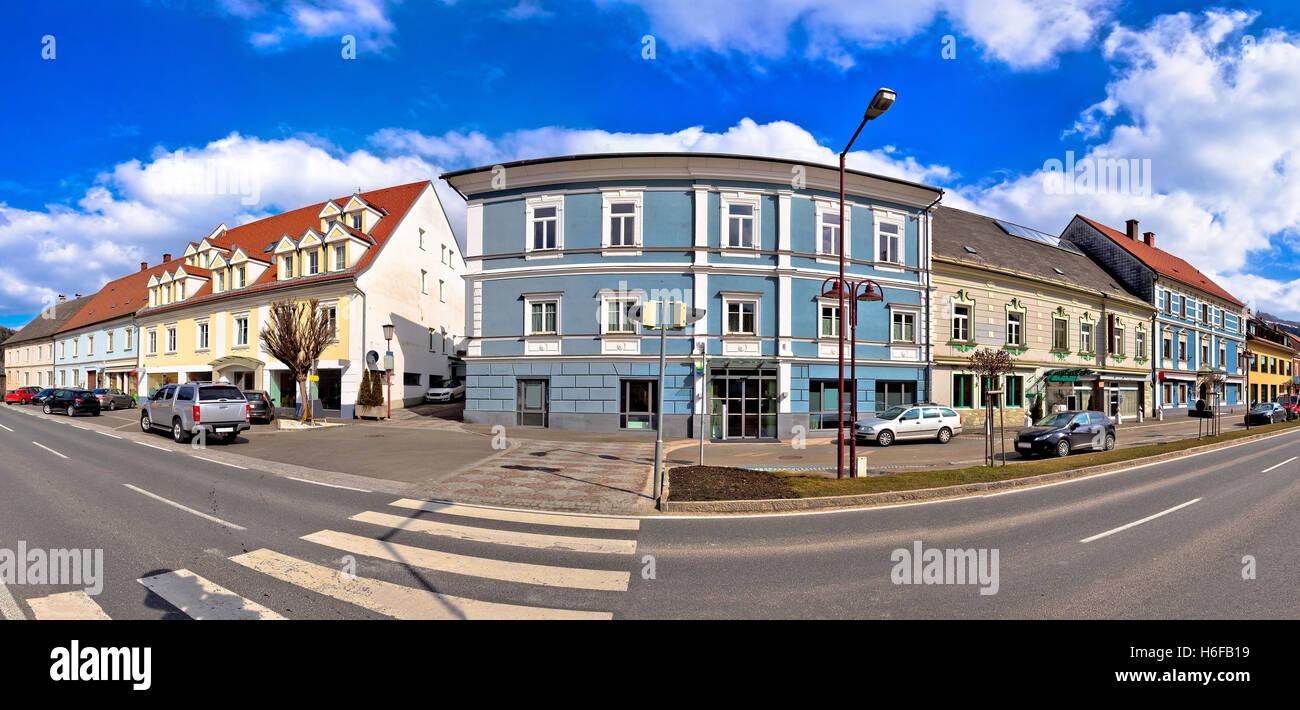 Stadt Bad Sankt Leonhard Im Lavanttal Stockbild
