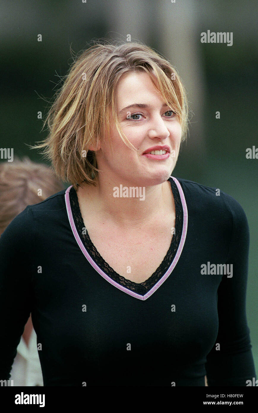 KATE WINSLET 12. September 1999 Stockbild