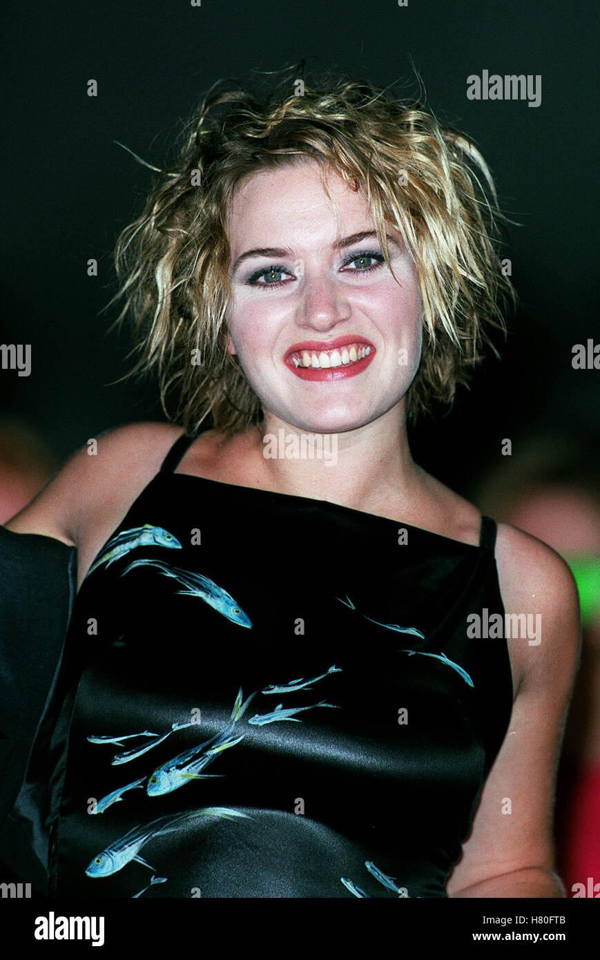 KATE WINSLET 12. September 1999 Stockbild