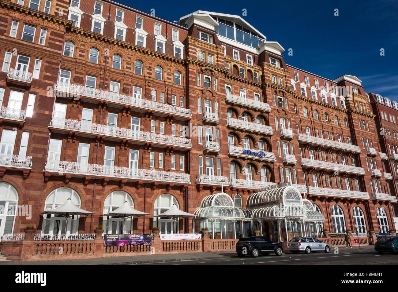 Hilton Brighton Metropole Hotel (erbaut 1890), Brighton, Sussex, England UK Stockbild