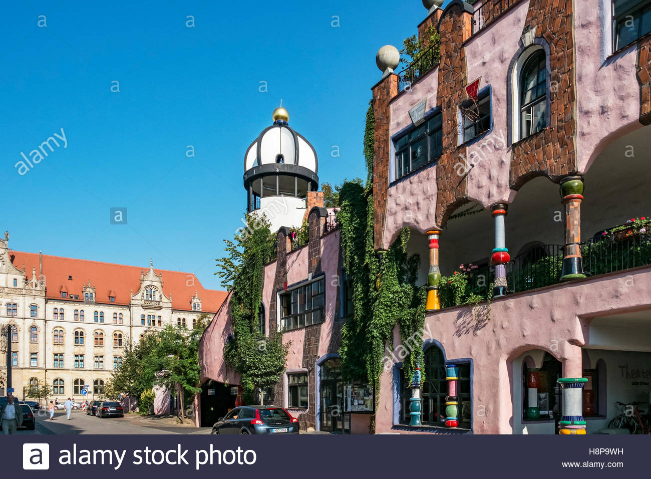 Magdeburg stockfotos magdeburg bilder alamy for Design hotel magdeburg