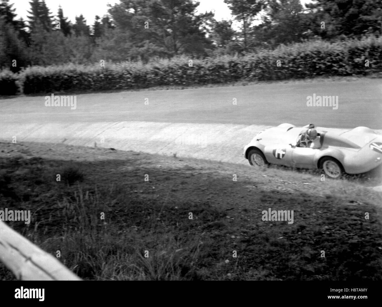 1952-EIFELRENNEN SPORT KARUSSEL Stockbild