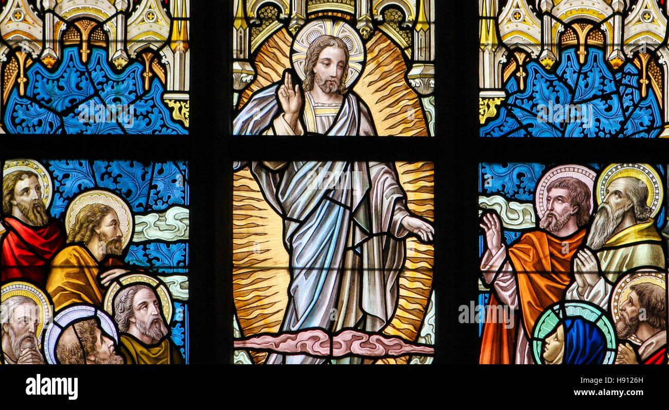 Ascension of jesus stockfotos bilder