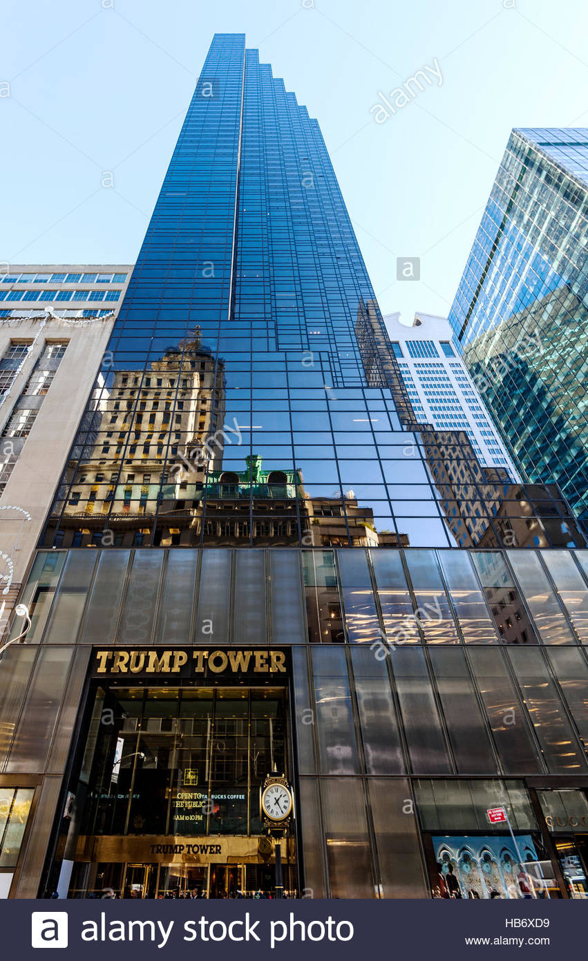 Trump Tower Stockbild