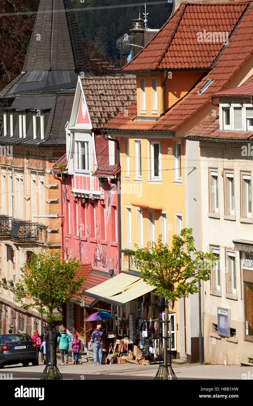 Schwarzwald: Altstadt von Triberg Stockfoto