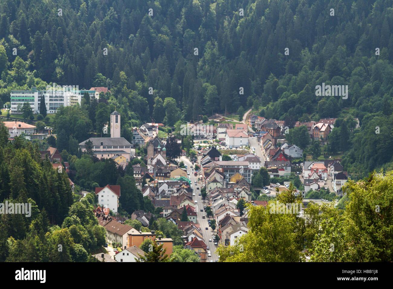 Schwarzwald: Triberg, Deutschland Stockfoto