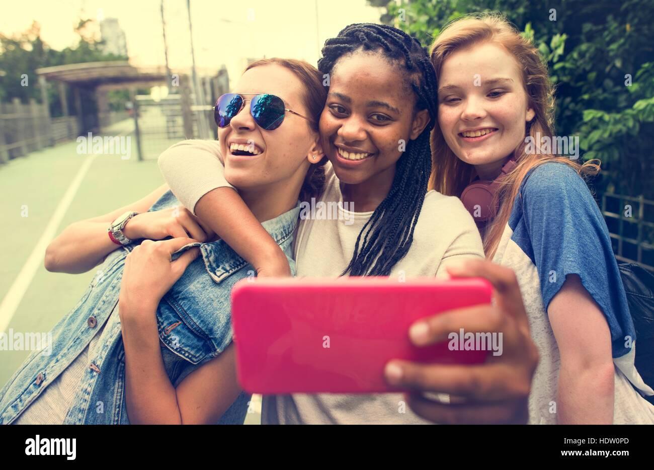 Jugendliche Teen Age-Konzept Stockbild