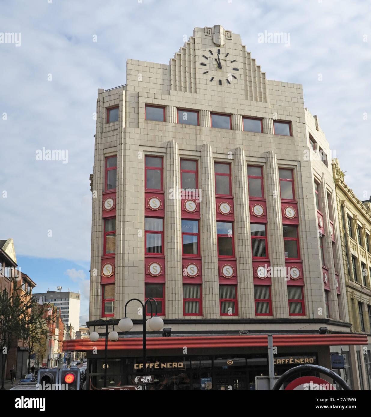 Laden Sie dieses Alamy Stockfoto North St Belfast Gebäude, Stadtzentrum, Nordirland, Vereinigtes Königreich - HDWRWG