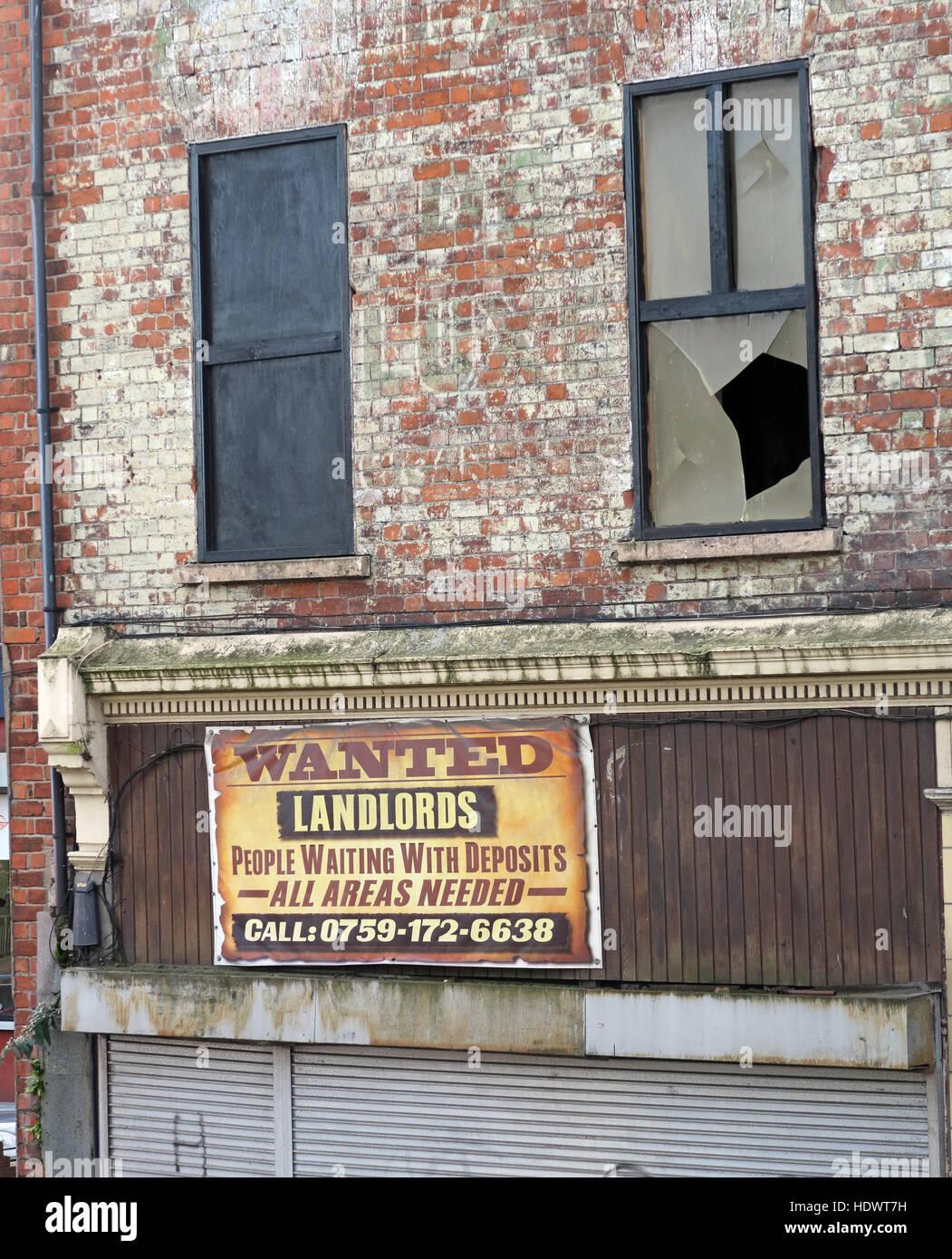 Laden Sie dieses Alamy Stockfoto Heruntergekommenen Vermietung Unterkunft - Vermieter wollte, Menschen warten mit Einlagen, ggf. alle Bereiche 0759-1726638 Belfast nennen - HDWT7H