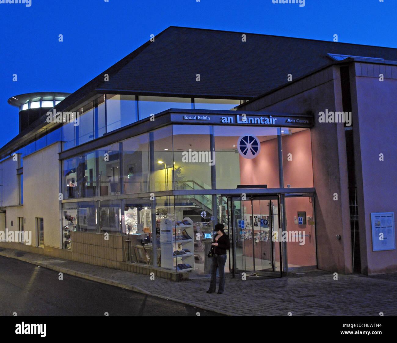 Laden Sie dieses Alamy Stockfoto Stornoway Isle Of Lewis, ein Lanntair Arts Centre, Schottland, UK - HEW1N4
