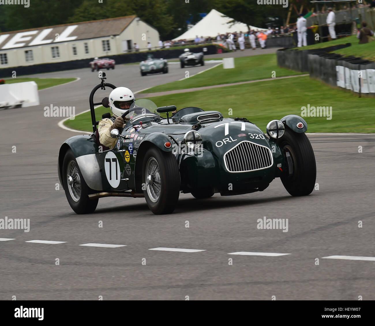 Massimo Bettati, Allard J2X, Freddie März Memorial Trophy, Sports Racing Cars, Goodwood Revival 2016, 2016, Stockbild