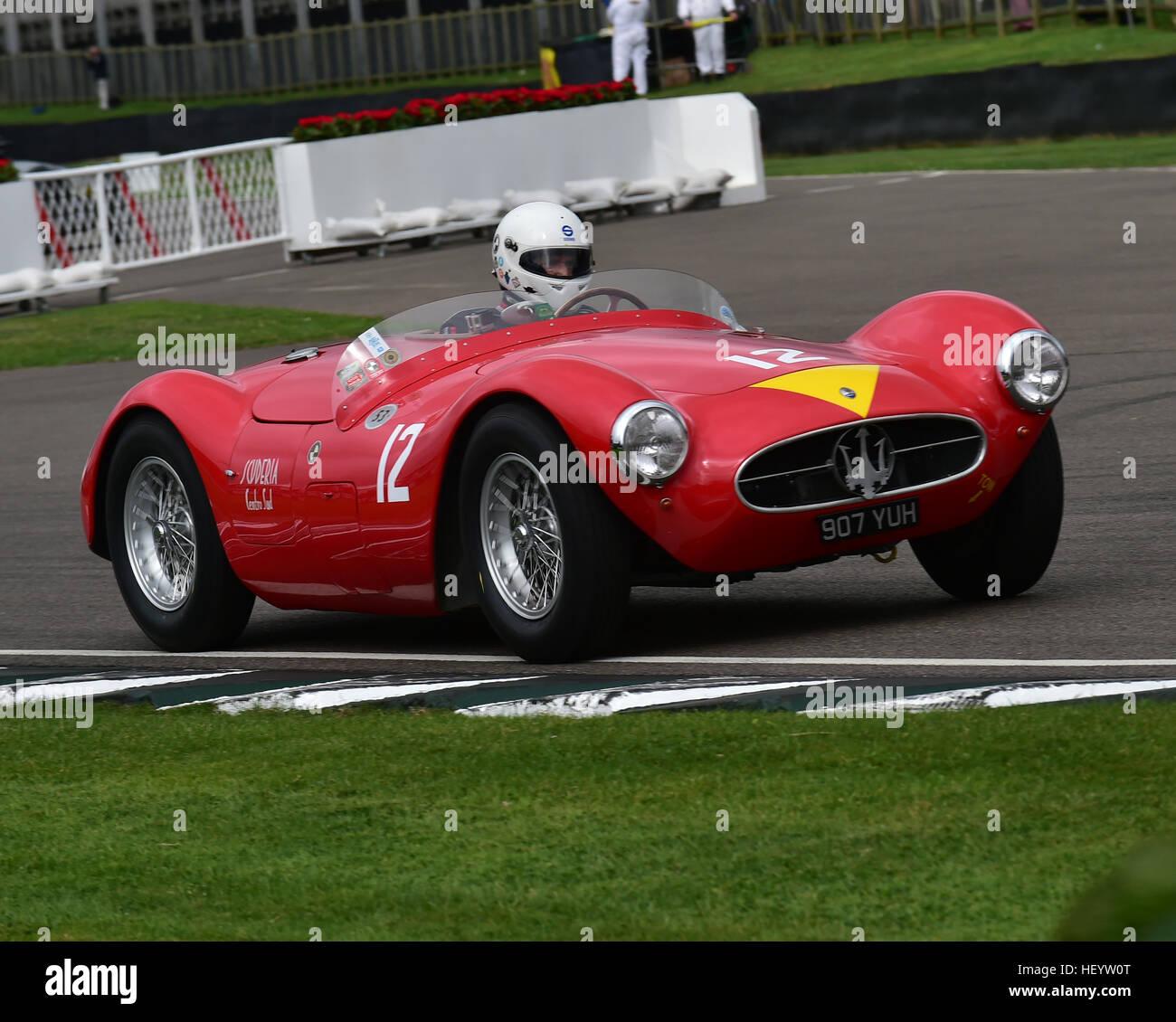 Manuel Elicabe, Maserati A6GCS, Freddie März Memorial Trophy, Sports Racing Cars, Goodwood Revival 2016, 2016, Stockbild