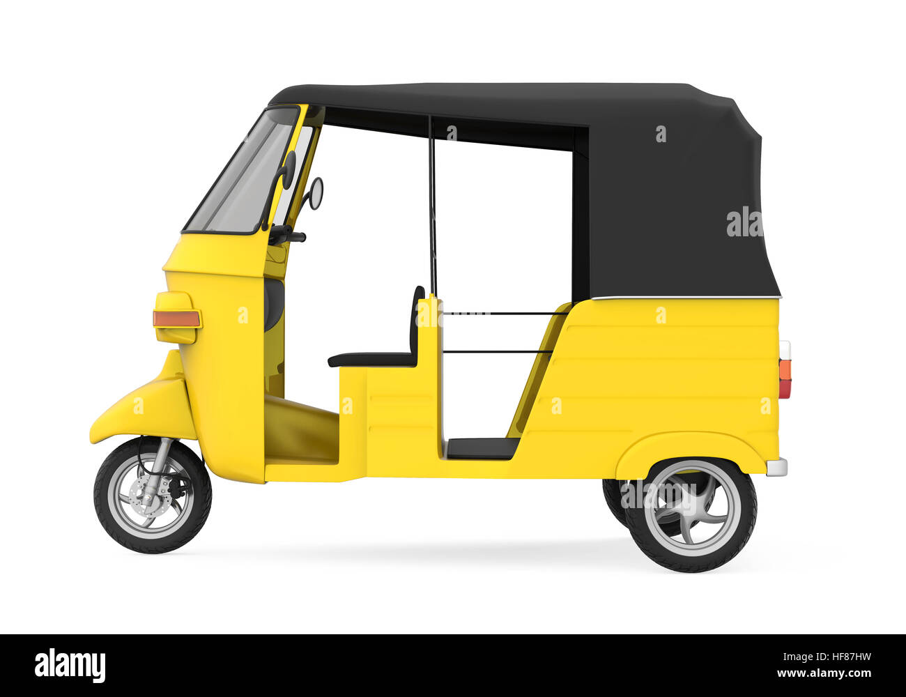 yellow car tricycle stockfotos yellow car tricycle. Black Bedroom Furniture Sets. Home Design Ideas
