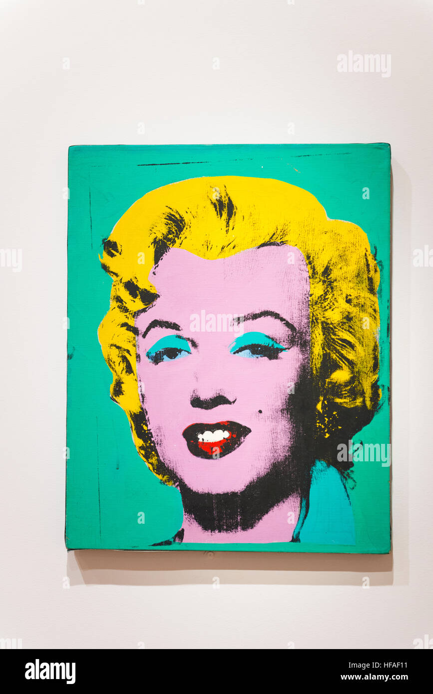 warhol marilyn stockfotos warhol marilyn bilder alamy. Black Bedroom Furniture Sets. Home Design Ideas
