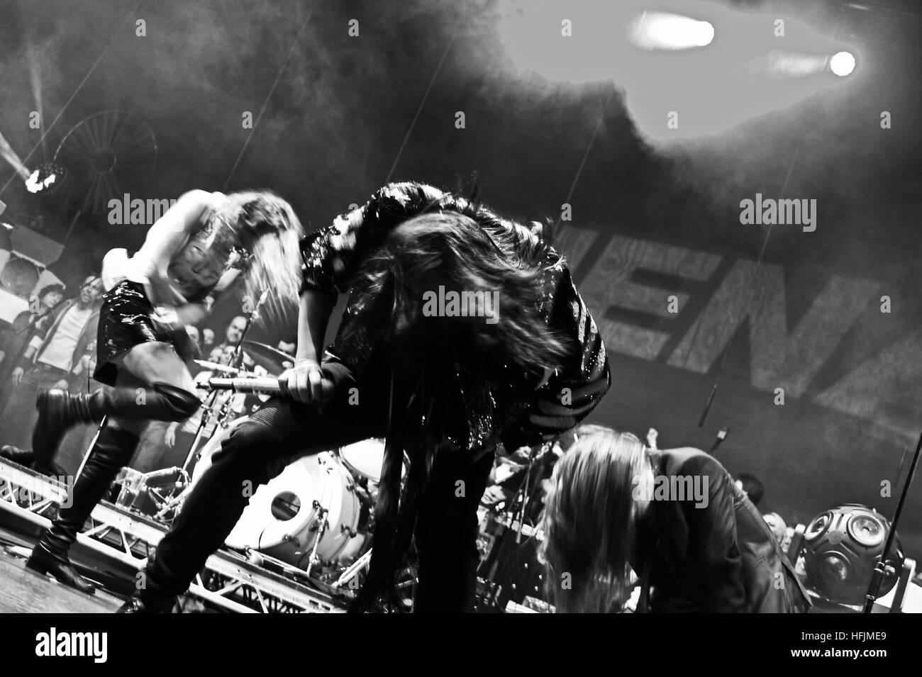 NENA live, Mehr! Theater, Hamburg, Deutschland. Nur zur redaktionellen Verwendung. Stockbild