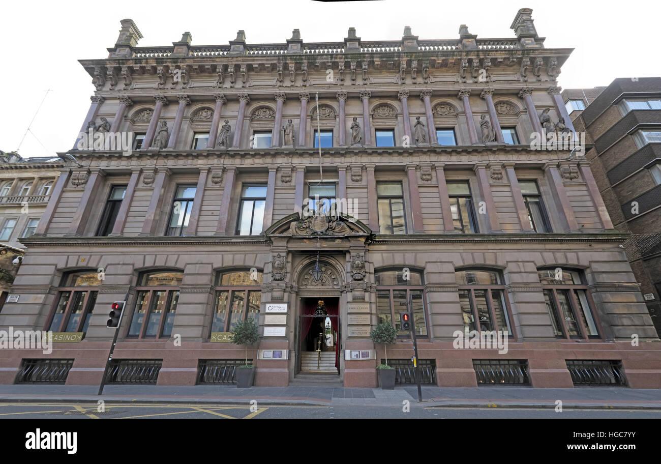 Laden Sie dieses Alamy Stockfoto Die Corrinthian Gebäude, Club, Glasgow - HGC7YY