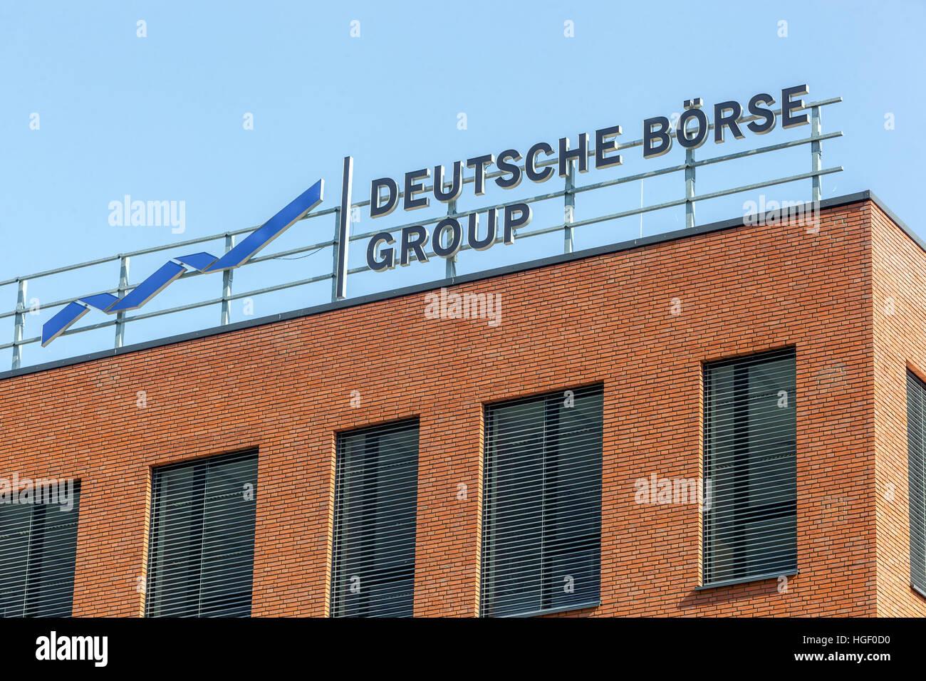 Deutsche Börse logo, Tschechische Republik Stockbild