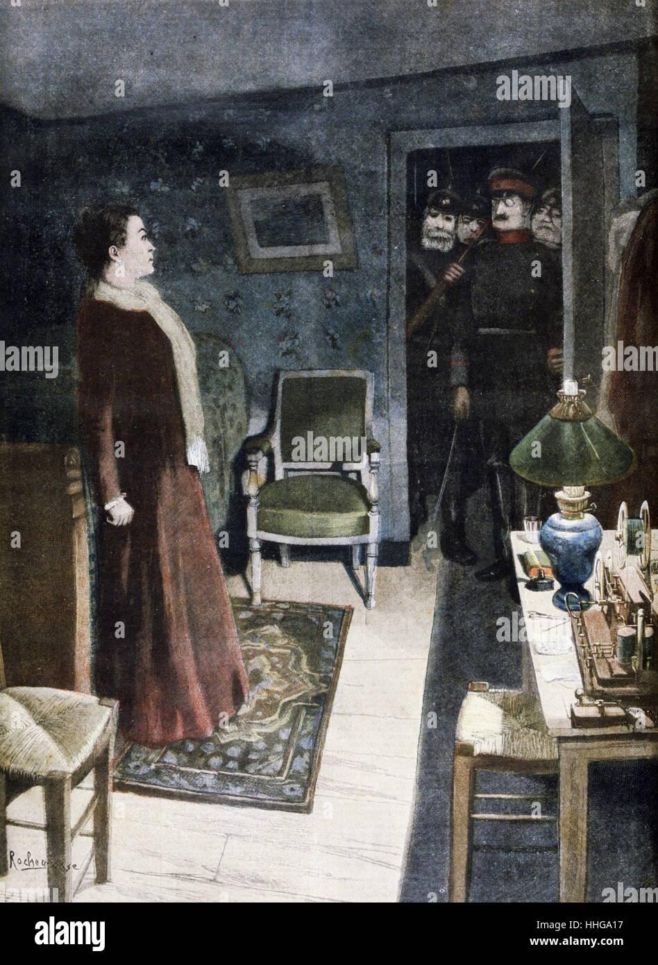 Legendäre Heldin Juliette Dodu (1848 ? 1909) von der deutsch-französischen Krieg von 1870 Stockbild