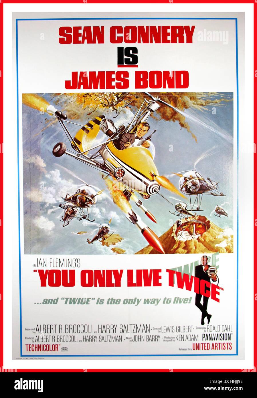 MAN LEBT NUR ZWEIMAL, 1967. Filmplakat für die 1980 Re-Release mit ...