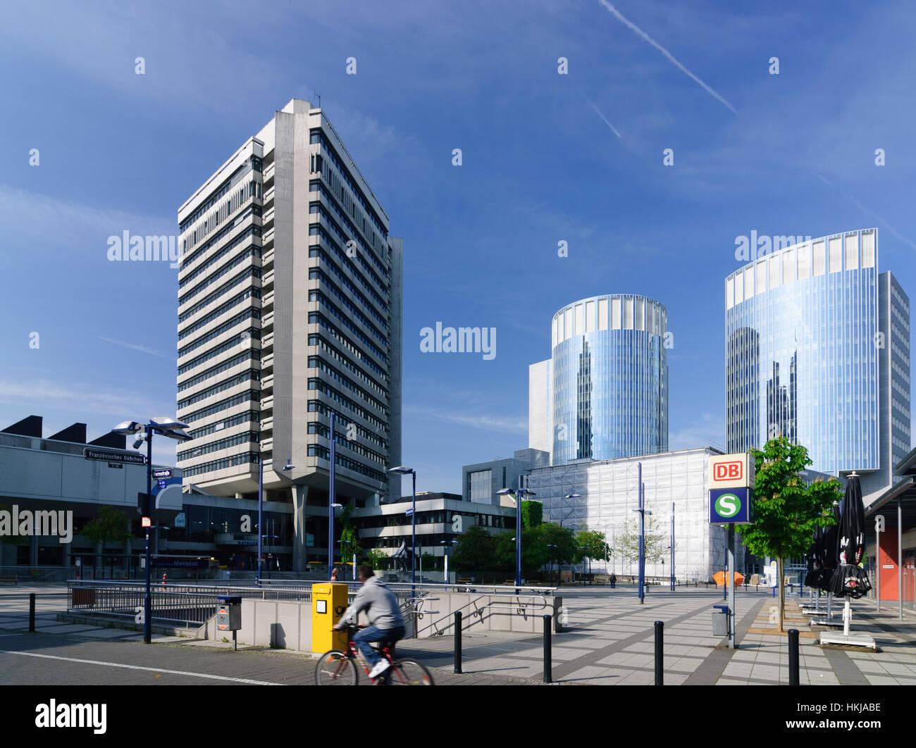 Offenbach am main rathaus auf der linken seite eingang for Werbeagentur offenbach am main