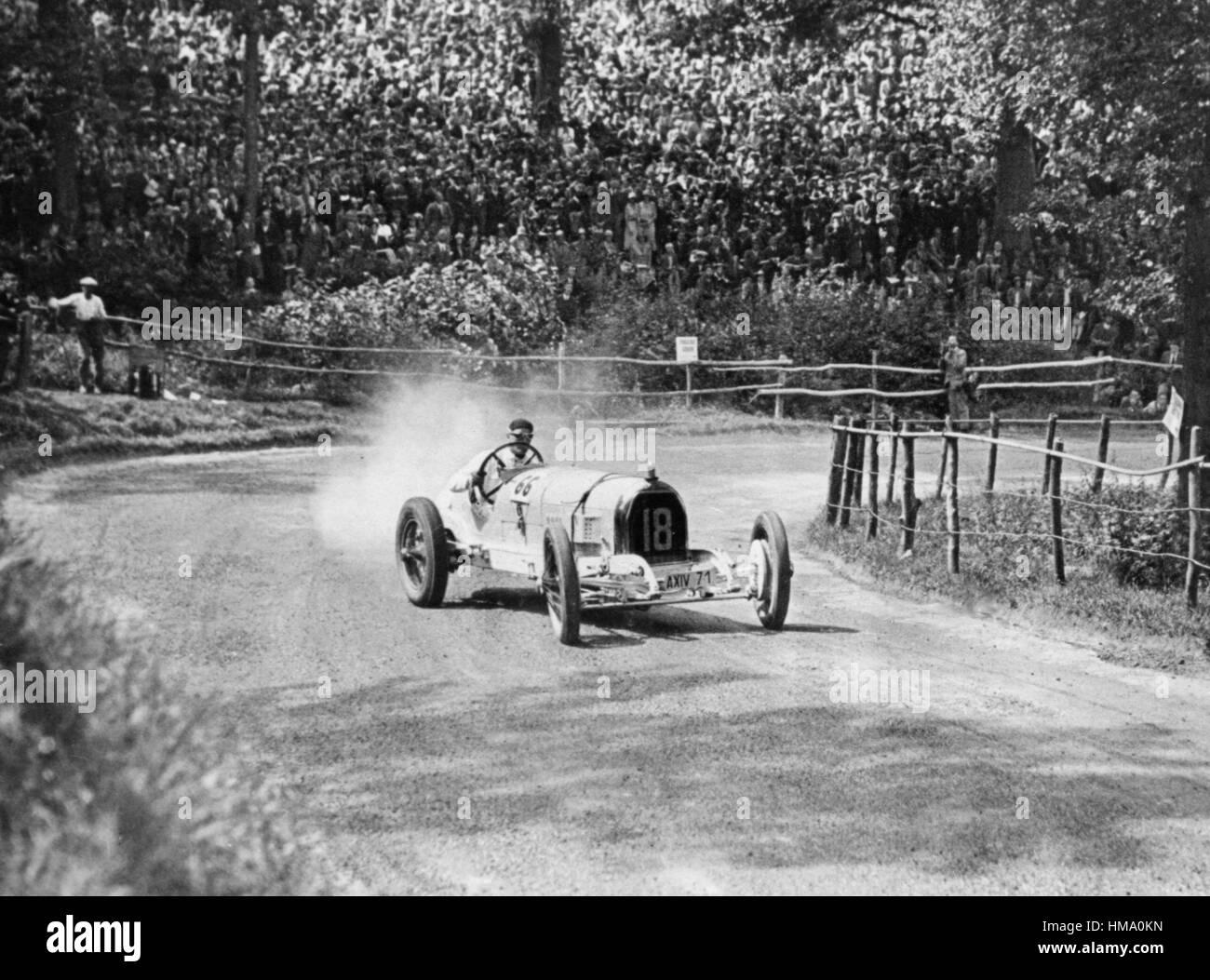 Austro-Daimler, Hans Von stecken, Shelsley Walsh 1930 Stockbild