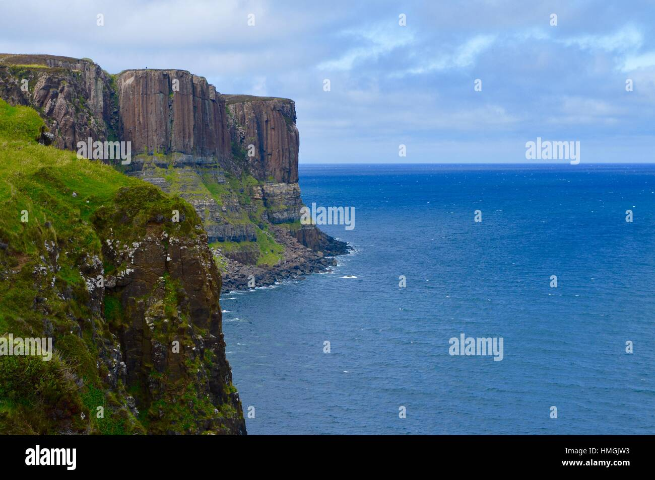 Kilt Rock, Isle Of Skye Stockbild