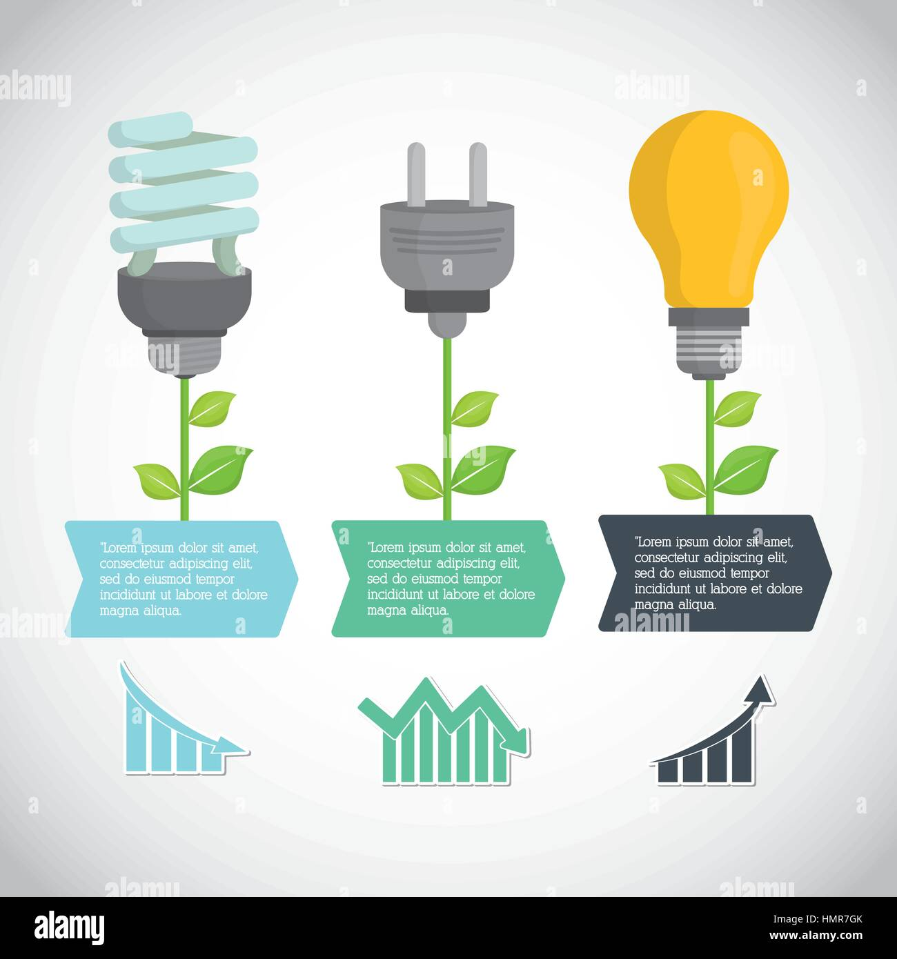 Umweltschutz-Icon-design Stockbild