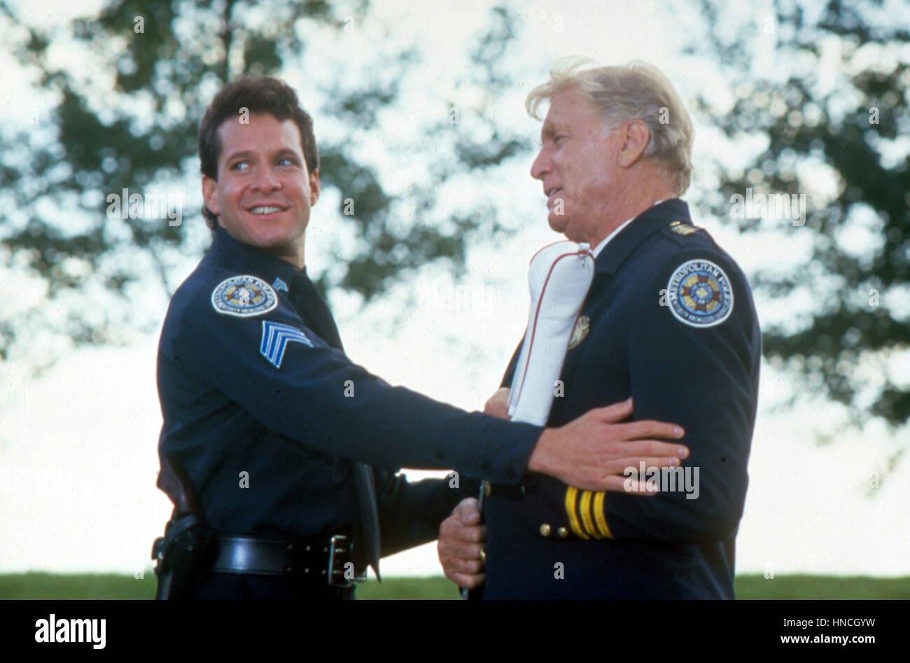 1. Januar 1987 -... Police Academy 4: Bürger auf Patrouille, Steve Guttenberg, George Gaynes... Film und Fernsehen. Stockbild