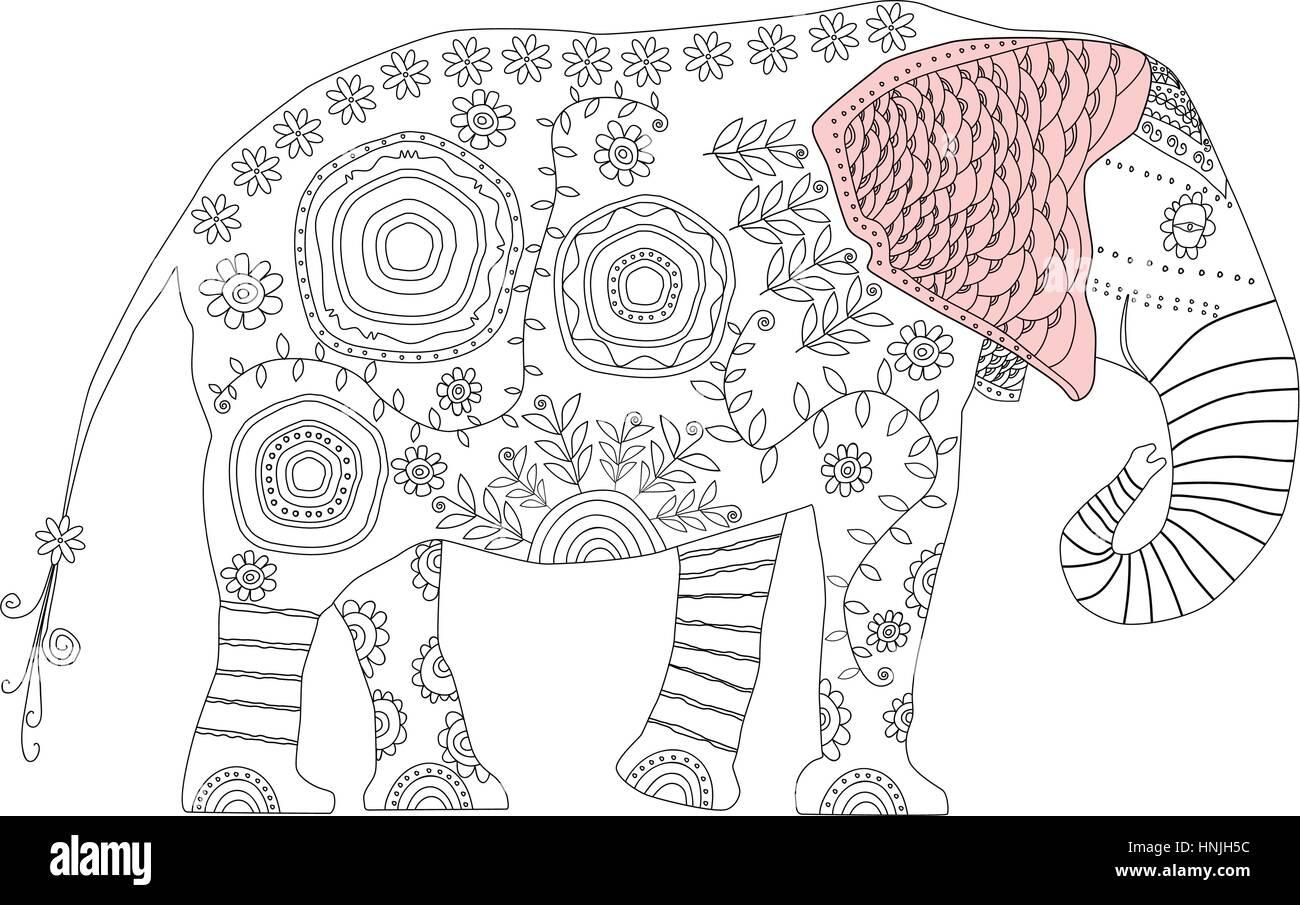 Fein Mama Und Baby Elefant Malvorlagen Zeitgenössisch - Beispiel ...