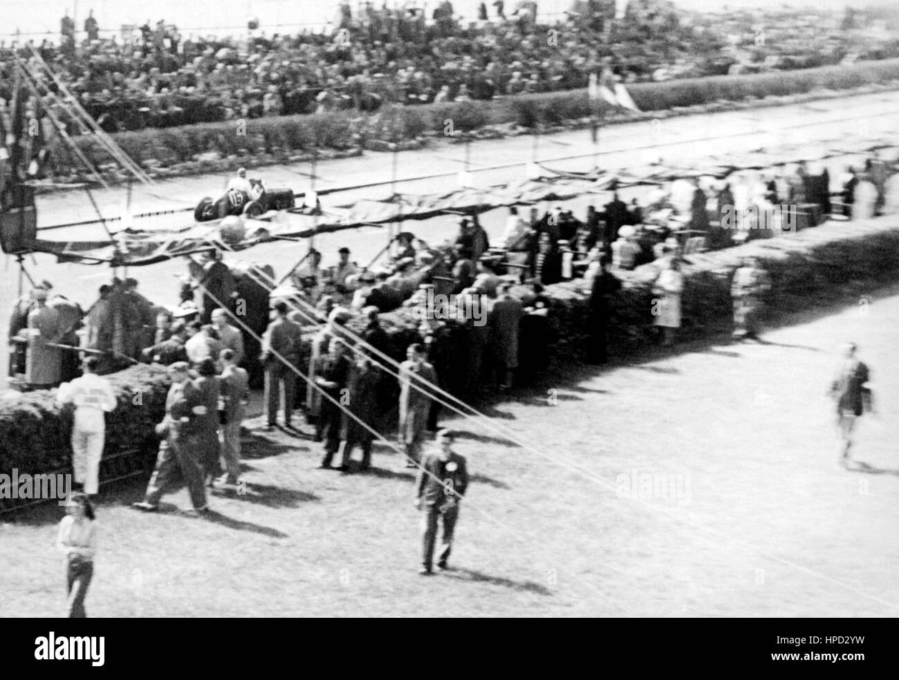 1948-Gruben Jersey-Straßenrennen Stockbild