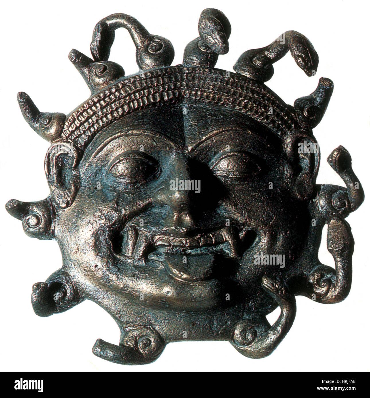 Gorgon, legendäre Kreatur Stockbild