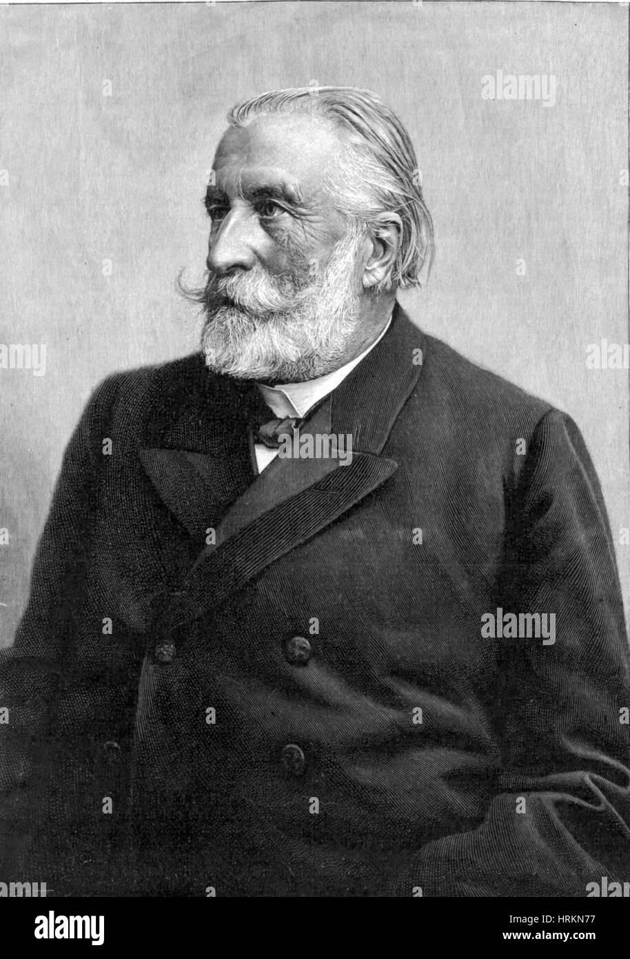 Ernst von Bergmann Stockbild