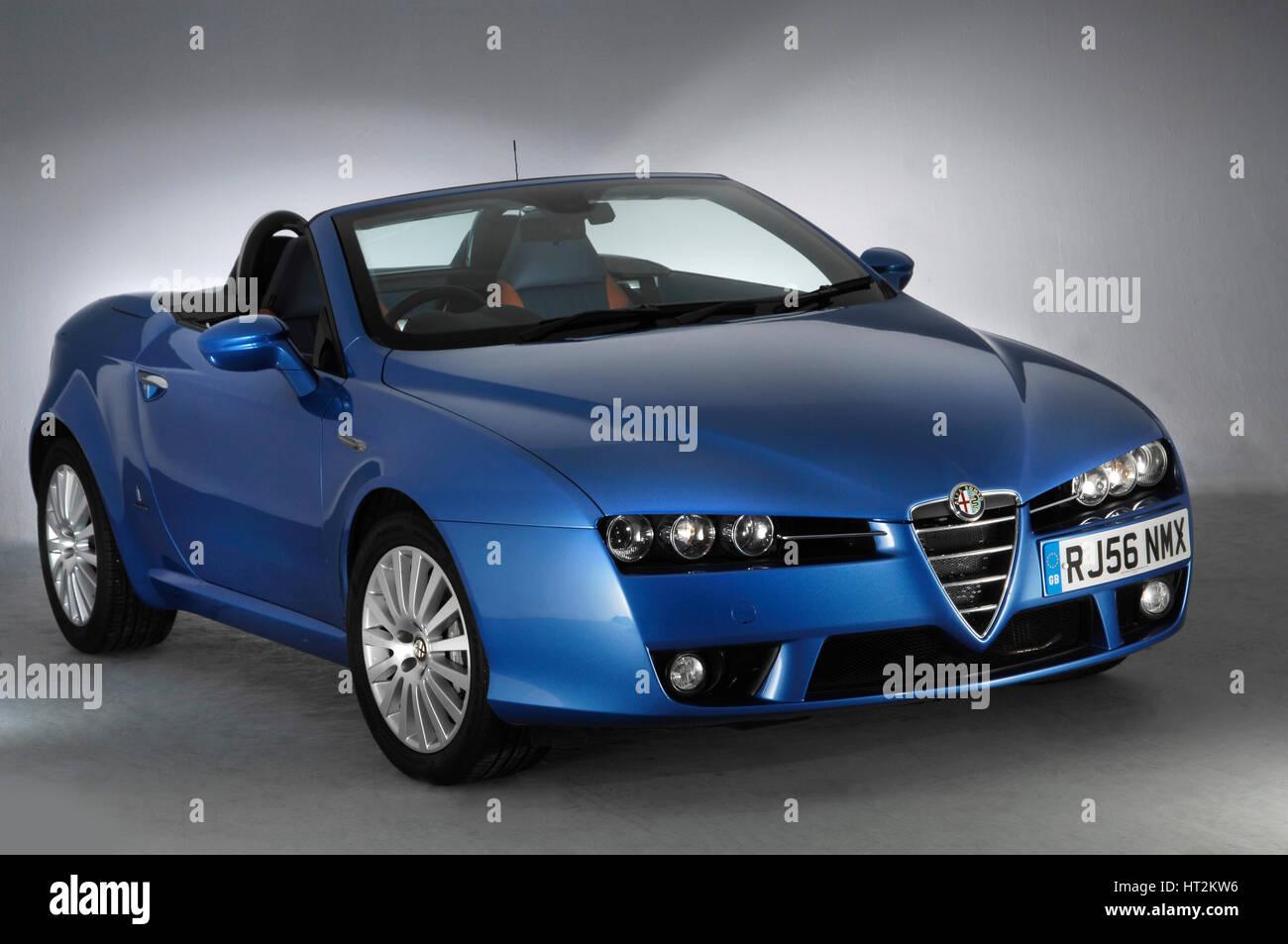 2006-Alfa Romeo Spider. Künstler: unbekannt. Stockbild