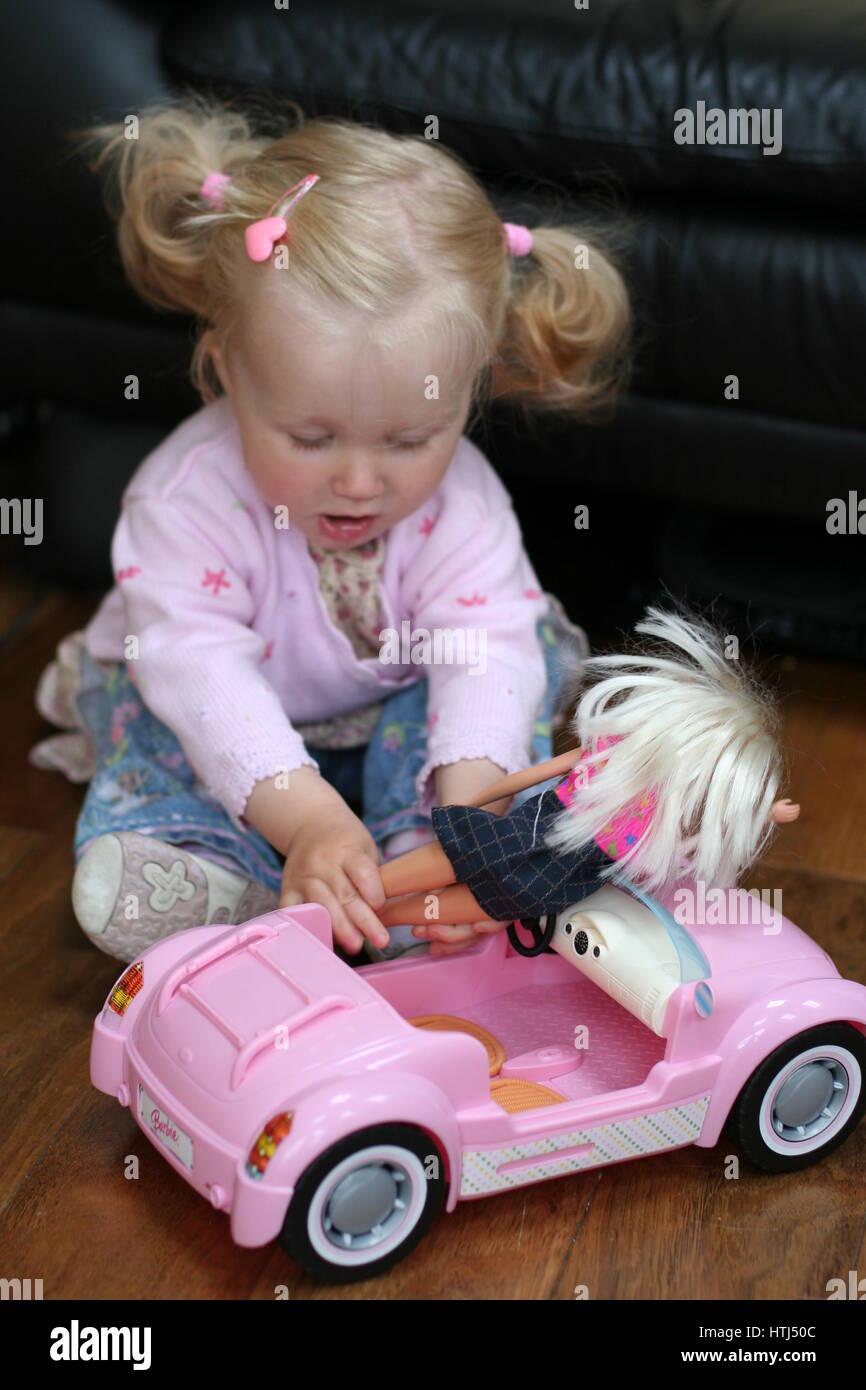 barbie car stockfotos barbie car bilder alamy. Black Bedroom Furniture Sets. Home Design Ideas