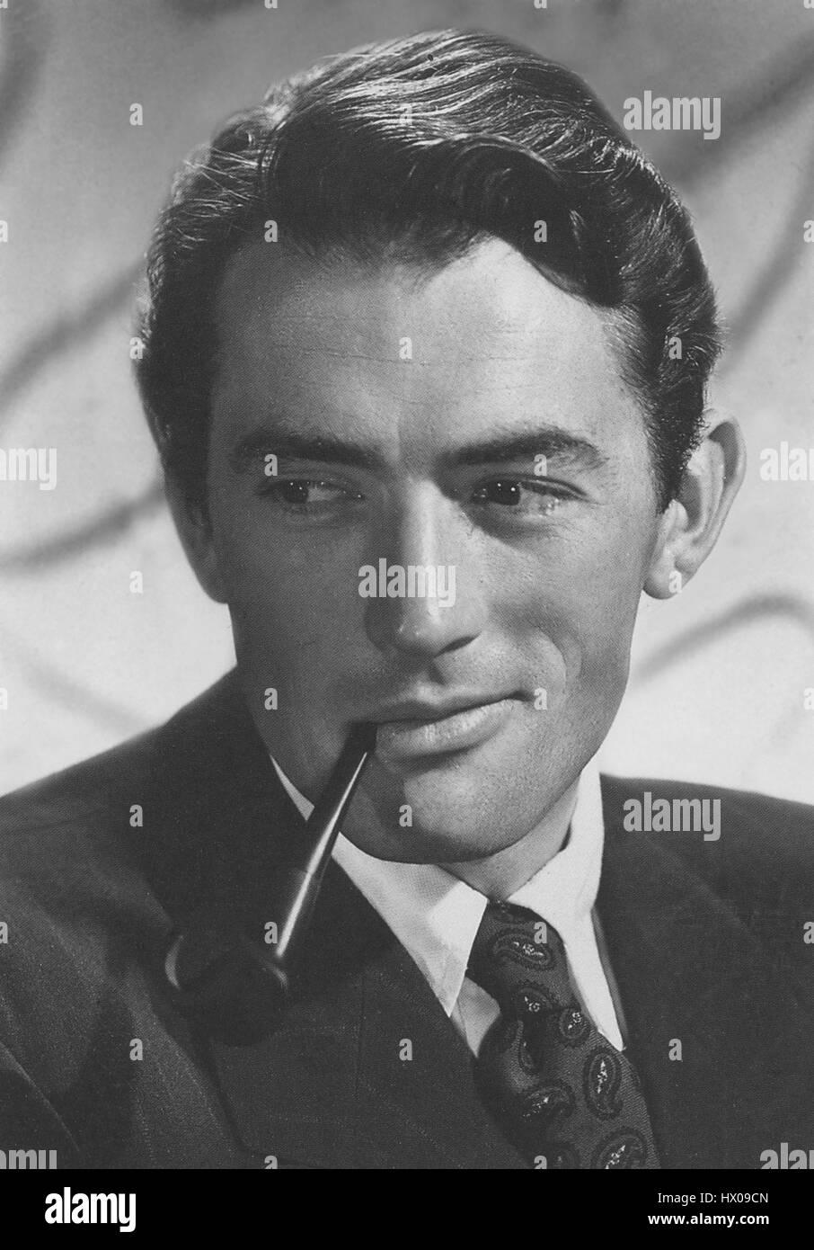 Gregory Peck, Werbung Portrait, 1951 Stockbild