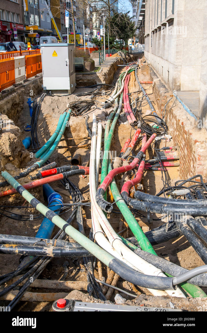 laying cables stockfotos laying cables bilder alamy. Black Bedroom Furniture Sets. Home Design Ideas