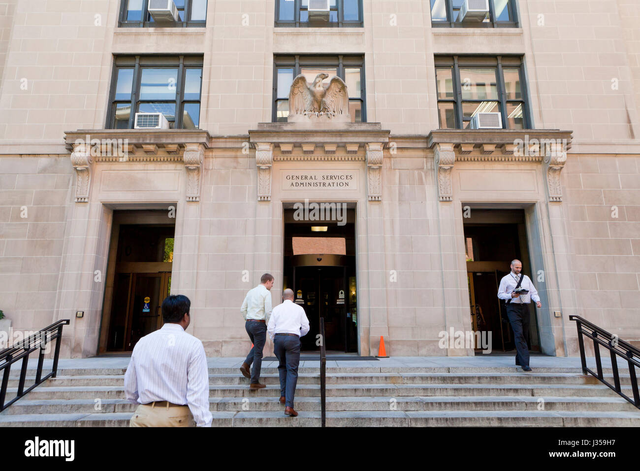 General Services Administration Building - Washington, Dc, USA Stockbild