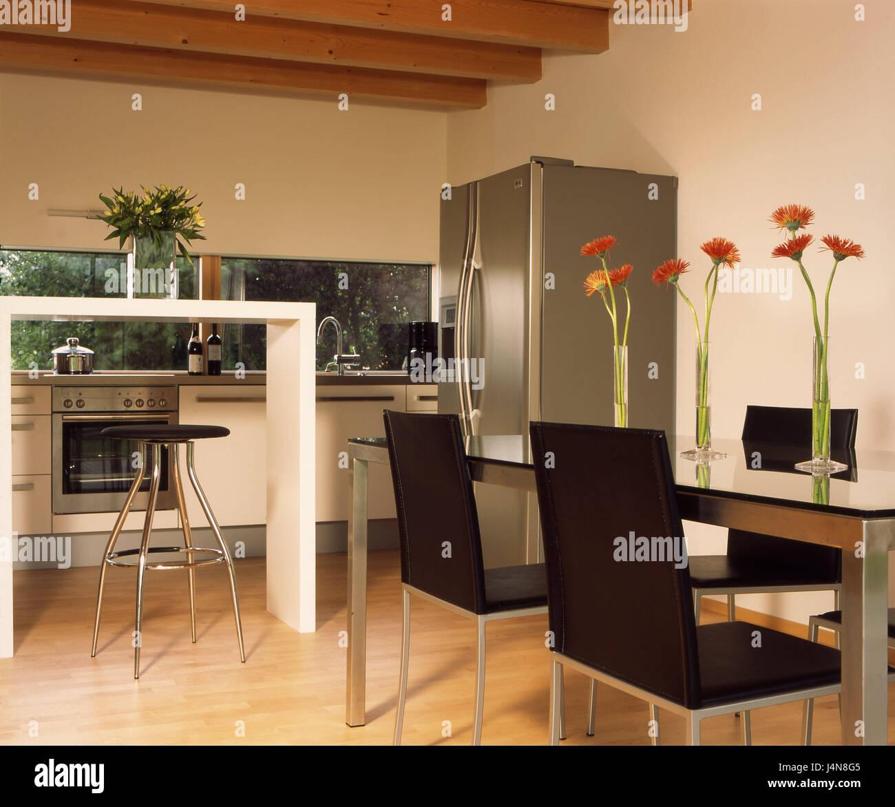 Wohnhaus Eberle, Küche, Restaurants, Bereich, Moderne, Wohn Haus,  Einfamilienhaus, Eigenheim, Haus, Innen, Inneneinrichtung, Innenarchitektur,  Live, ...