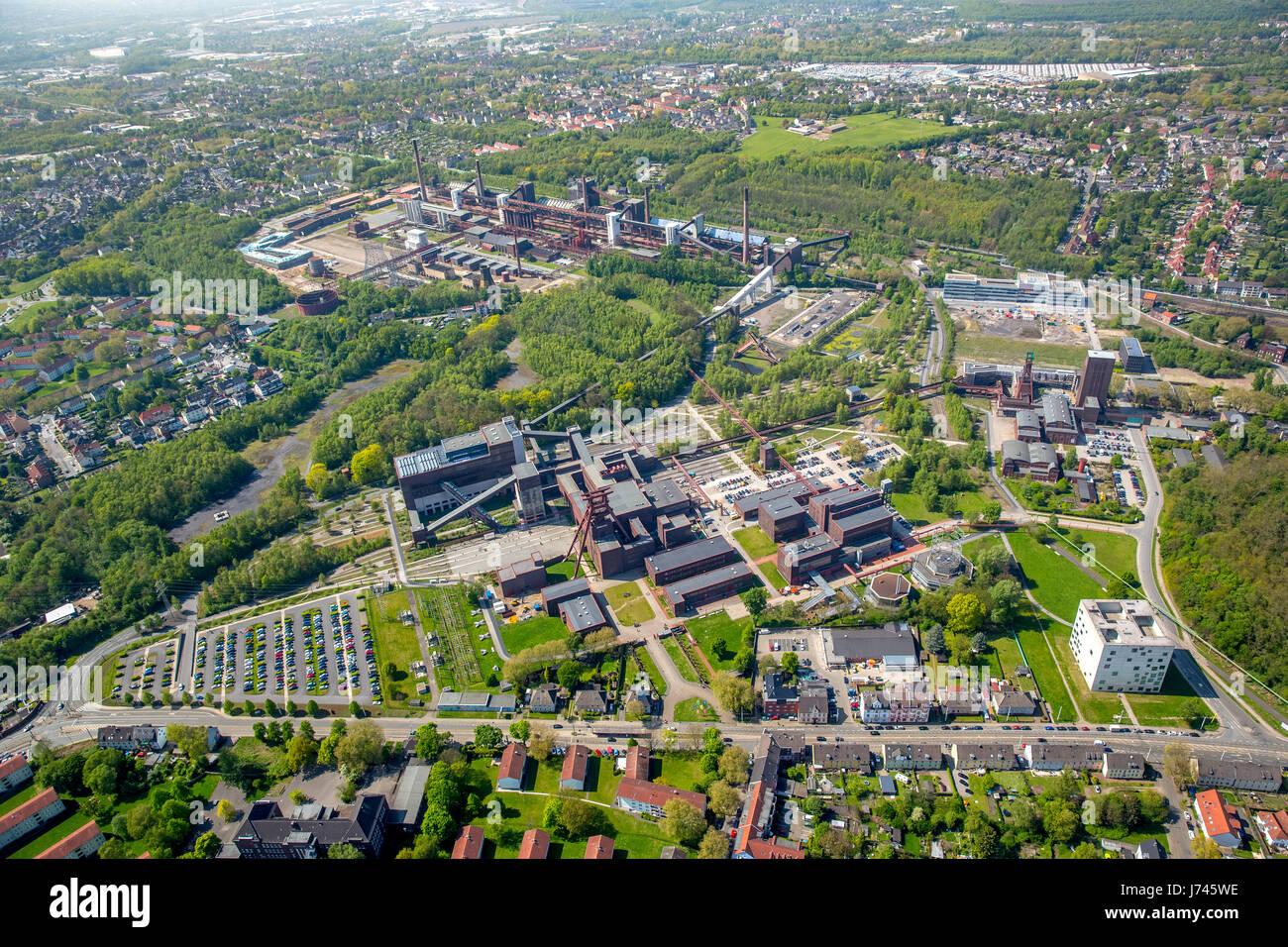 Zollverein kulturellen Welterbe Zollverein, Essen, Ruhrgebiet, Nordrhein-Westfalen, Deutschland, Zollverein, Weltkulturerbe Stockbild