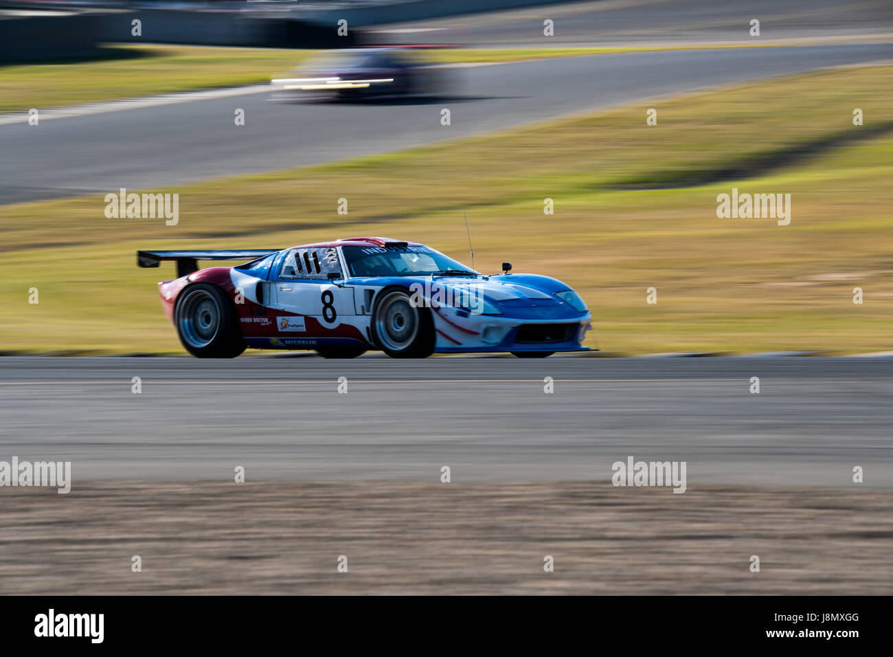 Motorsport-Park Sydney, Australien. 28. Mai 2017.  Gerade 8 Racing GT40. Anthony fesselte/Alamy Live-Nachrichten Stockbild