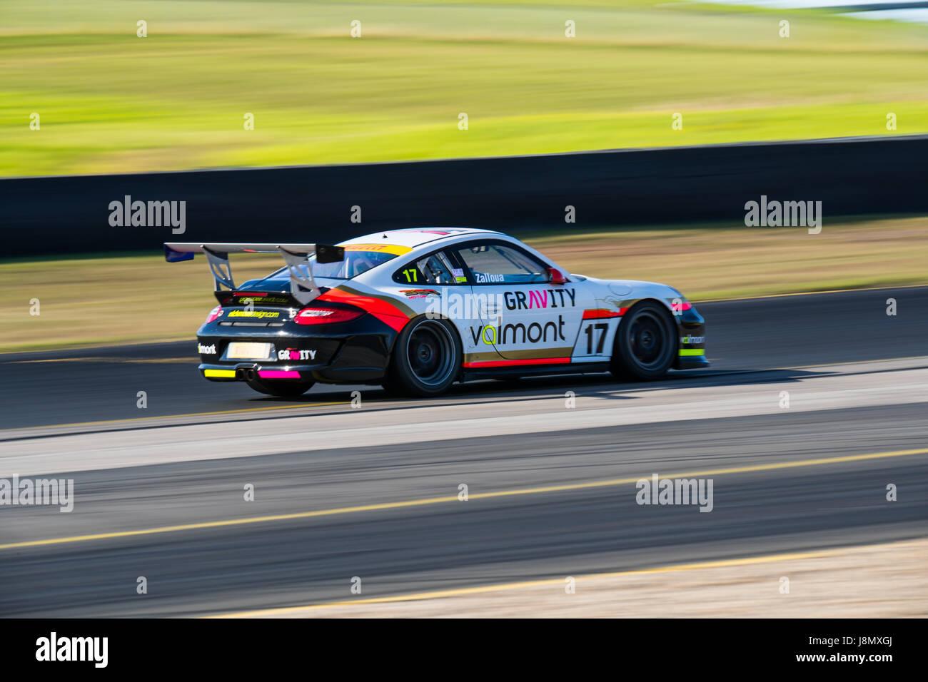 Motorsport-Park Sydney, Australien. 28. Mai 2017.  360-Motorsport. Anthony fesselte/Alamy Live-Nachrichten Stockbild