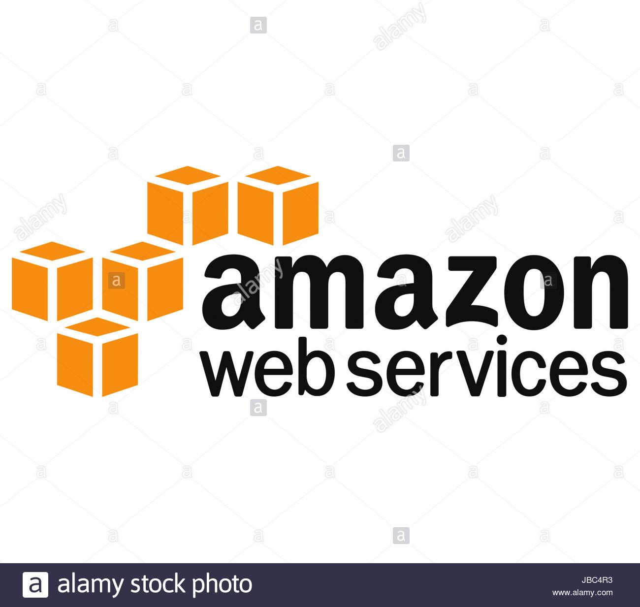 Amazon Web Services Symbol logo Stockbild