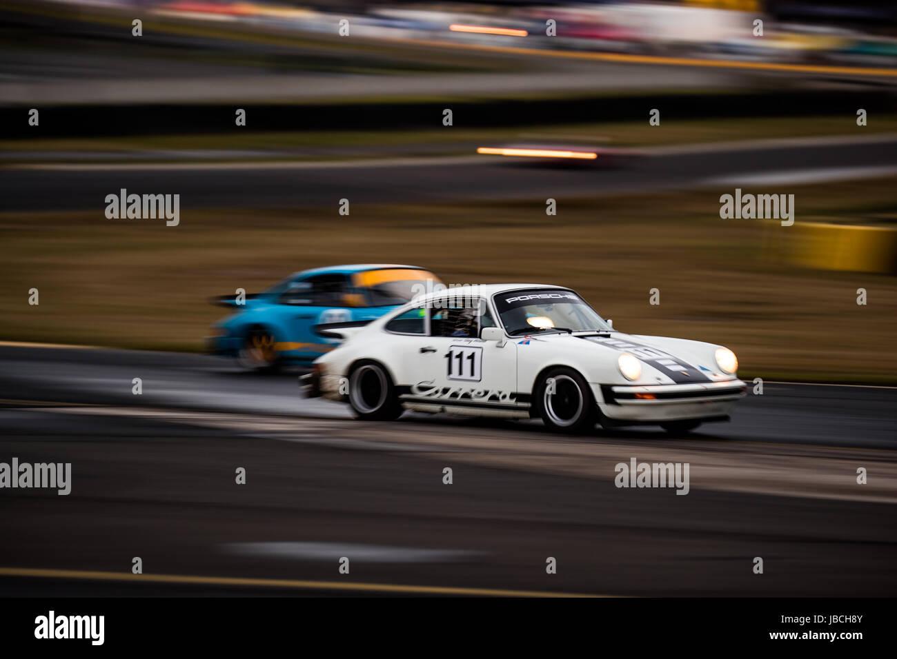 Sydney Motorsport Park, 10. Juni 2017.  Gruppe S-Rennen von Greg Horwill. Anthony fesselte/Alamy Live-Nachrichten Stockbild