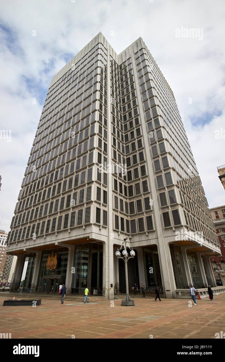 kommunale Dienstleistungen bauen Philadelphia USA Stockbild