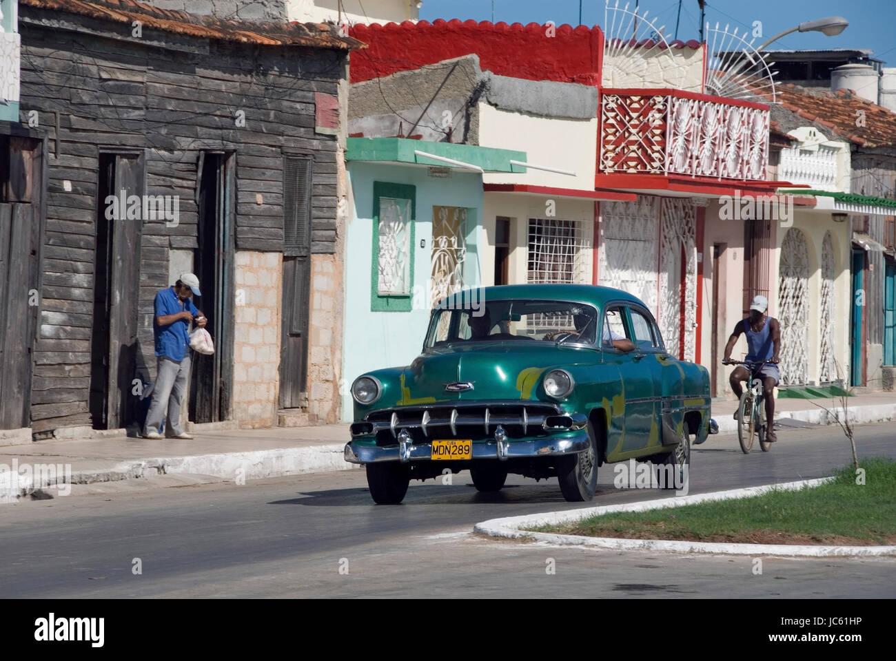 Kuba, Karibik, Varadero, Oldtimer, Kuba, Karibik, Oldtimer Stockbild