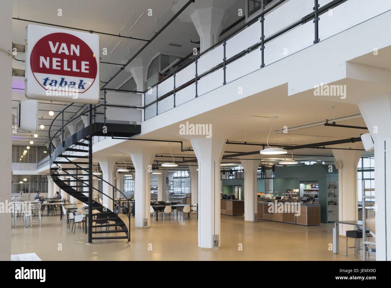 Weltkulturerbe Van Nelle Fabrik in Rotterdam. Stockbild