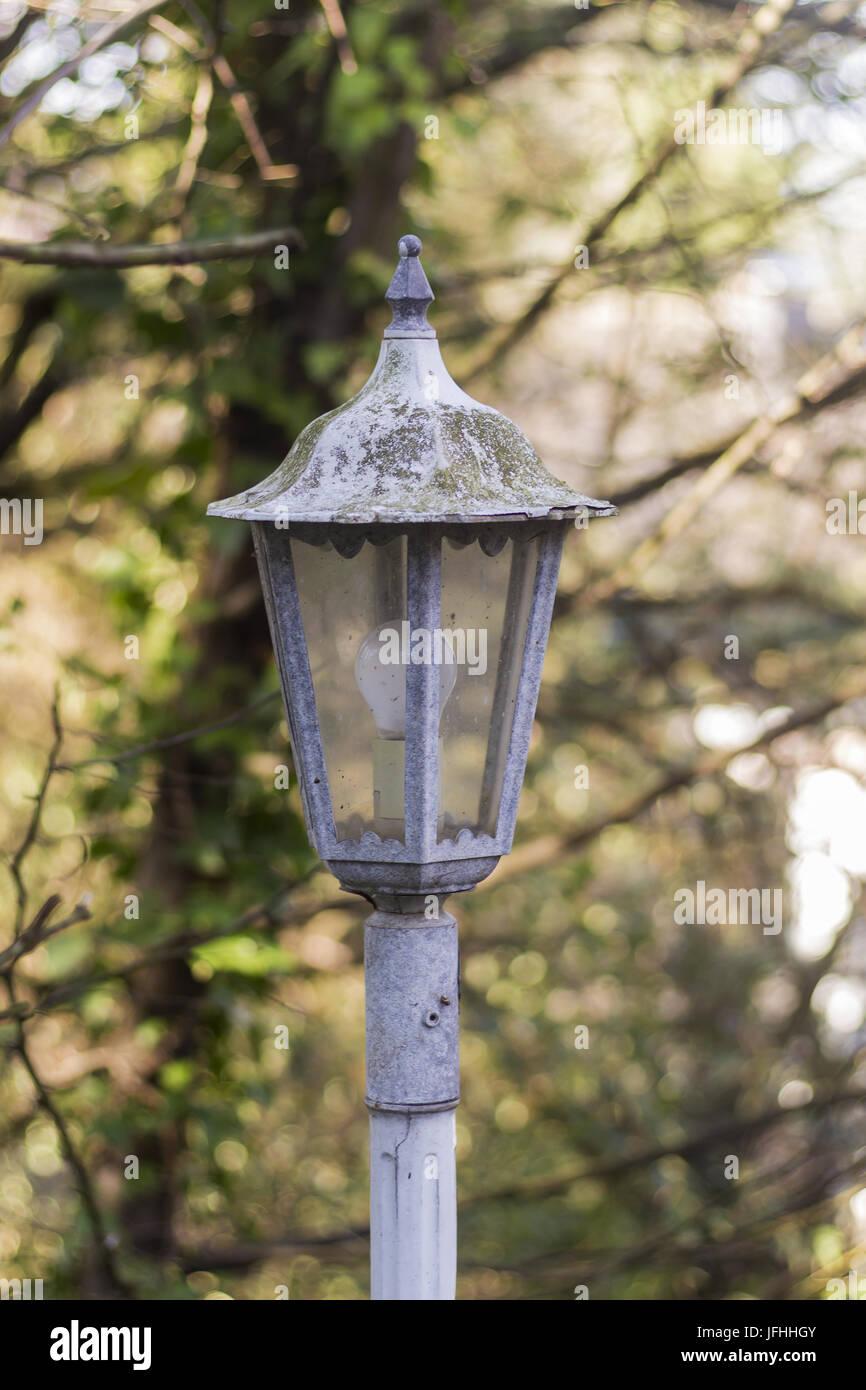 Detailansicht nostalgische street lamp Stockbild