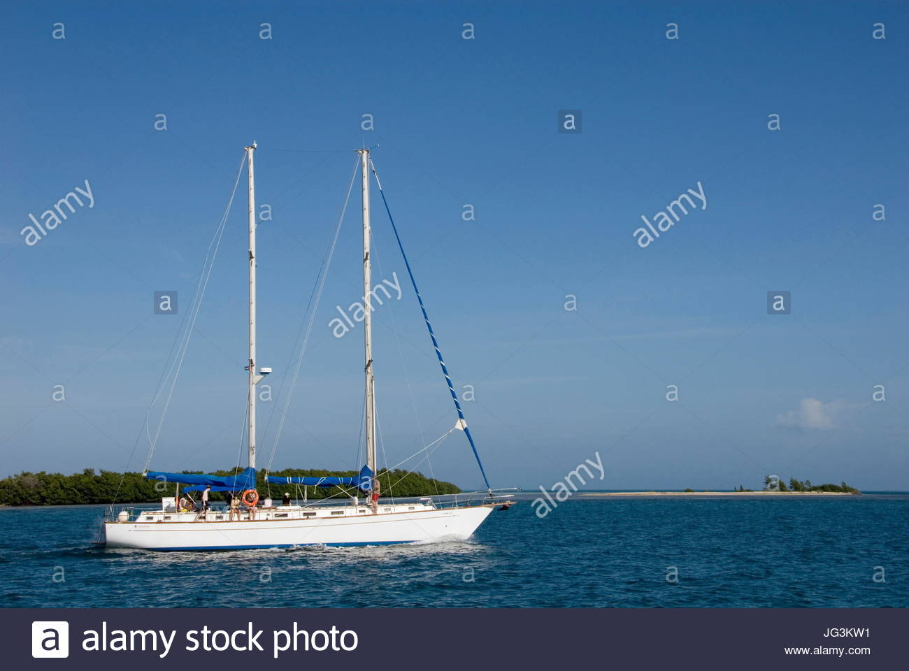 VP 5766518, Segelschiff, Varadero, Kuba, Karibik [Copyright-Hinweis: Frauke Scholz/McPHOTO/Vario Bilder] [jede Nutzung Stockbild